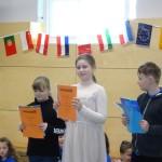 3. Platz im Sprachenwettbewerb Klasse 3