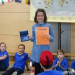 1. Platz im Sprachenwettbewerb Klasse 4
